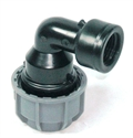 """Picture of 32mm Agrifit x 1"""" BSP Female Adaptor Elbow (Silver Line)"""