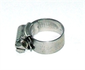 "Picture of 3/4"" Stainless Steel Hose Clip"