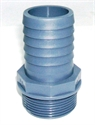 """Picture of  1 1/2"""" PVC Male Hosetail (38mm suction Pipe Layflat Hose)"""