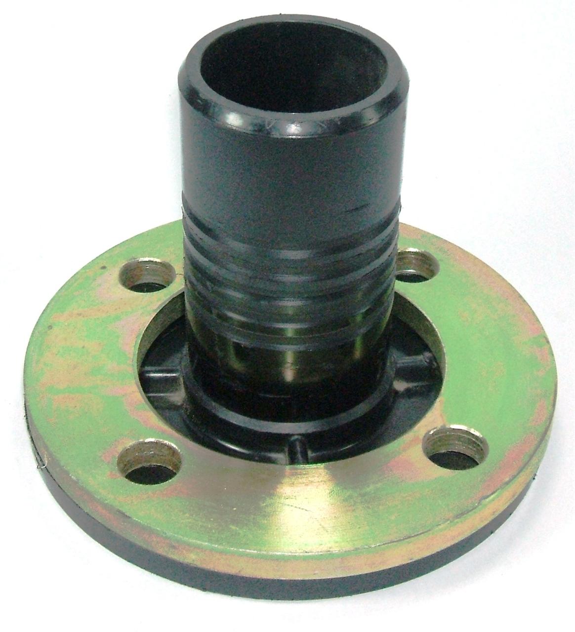 Mm quot plasson spigot flange adaptor np with metal
