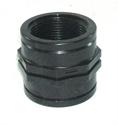 "Picture of 1 1/2"" Polypropylene socket"