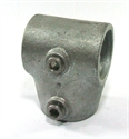 "Picture of Interclamp 1 1/2"" Angled Short Tee"