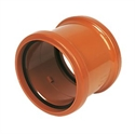 Picture of  110mm Underground Drainage Coupling - double socket