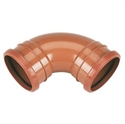 Picture of 110mm Underground Drainage bend double socket