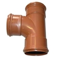 Picture of 110mm Underground Drainage equal juction (T)