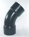 Picture of 110mm PVC 45 Degree Bend