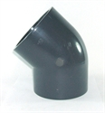 Picture of 110mm PVC 45 Degree Elbow