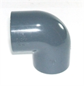 "Picture of 1 1/2"" PVC Elbow"
