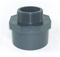 """Picture of 100mm x 3"""" PVC Threaded Socket"""
