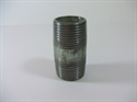 "Picture of 1 1/2"" Galvanised Barrel Nipple"