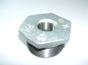 "Picture of 1 1/2 x 1/2"" Galvanised Bush"