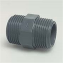 "Picture of 1 1/2"" PVC Hex Nipple"