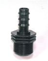 """Picture of 16mm x 3/4"""" Barbed Connector"""