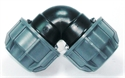 Picture of 25mm Agrifit Elbow (Silver Line)