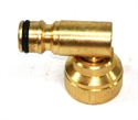 """Picture of 3/4"""" Brass Swivel Elbow"""