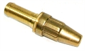 "Picture of 1"" Quick coupling hosetail, spray nozzle"