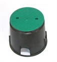 "Picture of 10"" Round Hydrant Box"