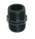"""Picture of 1 1/4"""" Polypropylene hex nipple"""