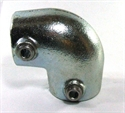 """Picture of Interclamp 1 1/4"""" Angled Elbow"""
