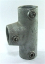 """Picture of Interclamp 1 1/2"""" Angled Long Tee"""