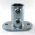 """Picture of Interclamp 1 1/2"""" Base Plate - Oval"""