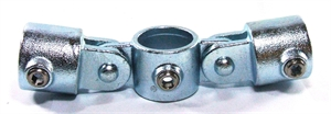 """Picture of Interclamp 1 1/4"""" Double Swivel Combination"""