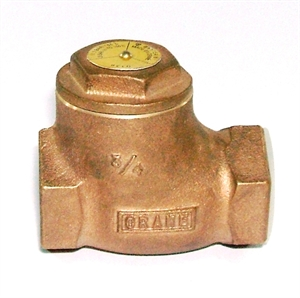 """Picture of 3/4"""" D138 Swing Check Valve"""