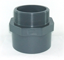 """Picture of 100mm x 4"""" PVC Threaded Socket"""