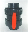 Picture of 110mm PVC Double Ball Valve